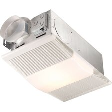 70 CFM Ceiling Exhaust Fan with Heater and Light