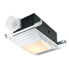 100 CFM Exhaust Bathroom Fan with Light