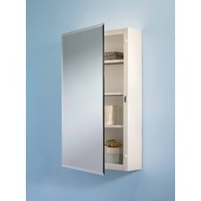 "16"" x 26"" Surface Mount Beveled Edge Medicine Cabinet"