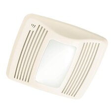 Ultra Silent 110 CFM Humidity Sensing Bathroom Fan with Light