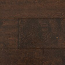 "Distressed Handscraped 6"" Engineered Maple in Port"