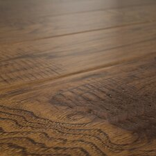 SAMPLE - Distressed Handscraped Engineered Hickory in Buckskin