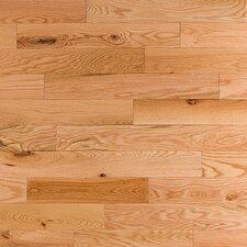 "Semi-Gloss 3-1/4"" Solid Red Oak in Rustic"