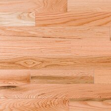 "2-1/4"" Solid Red Oak Flooring in Natural"