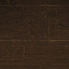 "Stained 3-3/4"" Solid Bamboo Flooring in Espresso"