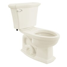 Clayton 1.6 GPF Elongated 2 Piece Toilet