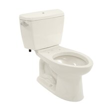 Drake 1.6 GPF Elongated 2 Piece Toilet with Bolt Down Lid