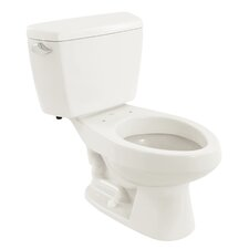 Carusoe 1.6 GPF Elongated 2 Piece Toilet with Insulated Tank