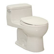 Supreme® Eco 1.28 GPF Round 1 Piece Toilet with SoftClose Seat