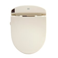 Heated Washlet Round Toilet Seat Bidet