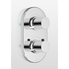 <strong>Toto</strong> Nexus Thermostatic Mixing Valve Trim with Dual Volume Control