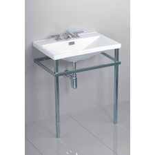 Lloyd Metal Console Bathroom Sink