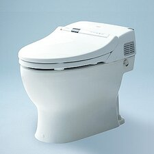 Neorest 500 Low Consumption 1.6 GPF Elongated 1 Piece Toilet with SanaGloss