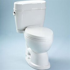 Mercer ADA Compliant Elongated 2 Piece Toilet