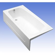 "ADA Compliant Cast Iron 66"" x 32"" Bathtub"