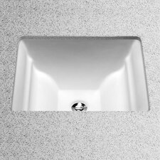 Aimes Undercounter Bathroom Sink with Sanagloss