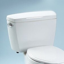 Carusoe Toilet Tank Only with Bolt Down Lid