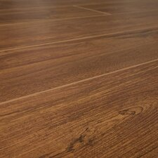 SAMPLE - 12 mm Narrow Board Laminate with Underlayment in Burlington Oak
