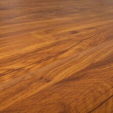 SAMPLE - 12 mm Narrow Board Laminate with Underlayment in Savannah Cherry