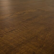 SAMPLE - 7 mm Narrow Board Laminate with Underlayment in Espresso Maple