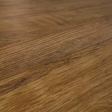 SAMPLE - 7 mm Narrow Board Laminate with Underlayment in Country Barn