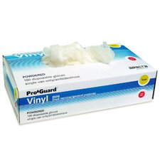 <strong>Layflat Products, Inc.</strong> Vinyl Gloves, Powdered, Small , 4 mil, 100/BX, Clear
