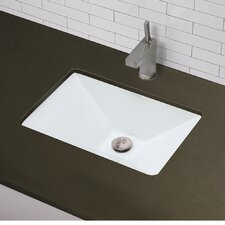 <strong>DecoLav</strong> Classically Redefined Pyramidal Undermount Bathroom Sink