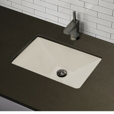 Classically Redefined Pyramidal Undermount Bathroom Sink