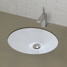 <strong>DecoLav</strong> Classically Redefined Oval Undermount Bathroom Sink