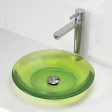 Incandescence Round Vessel Bathroom Sink