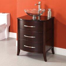 """Lola 25.25"""" Bathroom Vanity Set"""