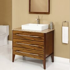 "Mila 37"" Single Bathroom Vanity Set"