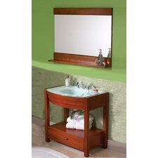 "<strong>DecoLav</strong> Ancahra 34"" Rectangular Vanity Set"