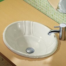 Classically Redefined Drop-In Bathroom Sink