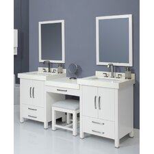 "Cameron 74"" Bathroom Vanity Set"