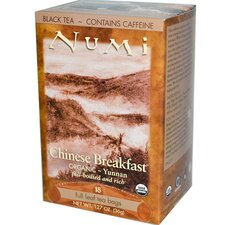 Organic Chinese Breakfast Black Tea (18 Pack)