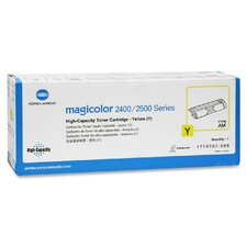 Yellow Toner, 4500 Page-Yield