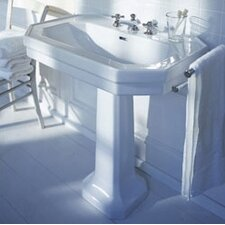 <strong>Duravit</strong> 1930 Series Pedestal Bathroom Sink Set