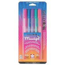 Moonlight Gelly Roll Dusk Assorted Pen (Set of 5)