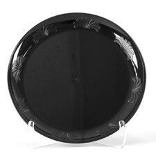 "Designerware 7.5"" Plastic Plate in Black"