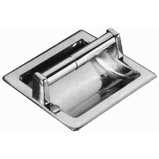 Futura Recessed Paper Holder in Polished Chrome