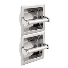 Vertical Double Toilet Paper Holder