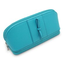 <strong>Morelle Company</strong> Rachel Leather Cosmetic / Jewelry Case
