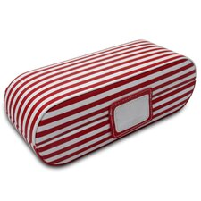Claire Striped Oblong Jewelry Box
