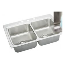 "Gourmet 33"" x 22"" x 8.13"" Kitchen Sink"