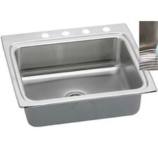 "Gourmet 25"" x 22"" Lustertone Kitchen Sink"