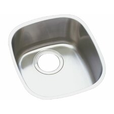 "14.5"" x 15.75"" Undermount Single Bowl Kitchen Sink"