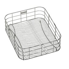 "17"" x 12.5""  Rinsing Basket with Removable Dish Rack"