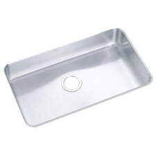 "<strong>Elkay</strong> 29.5"" x 17.5"" Undermount Single Bowl Kitchen Sink"