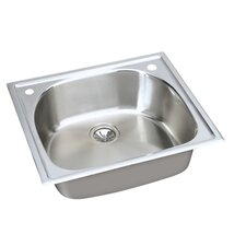 "Harmony 25"" x 22"" Top Mount Kitchen Sink"